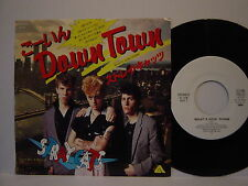 STRAY CATS-WHAT'S GOIN' DOWN NEO ROCKABILLY JAPAN PROMO 7""