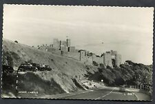 C1950's View of Cars parked outside Dover Castle