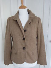 J Crew - Biscuit/Tan Wool Jacket US8/ UK12 - BNWOT