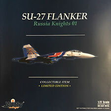 Witty Wings - 1/72 SU-27 Flanker Russia Knights 01 (Diecast) WTW-72-014-019
