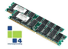 HP 2gb 2x1gb ECC REG pc-2 3200 DDRII SDRAM KIT 240 pin 345113-051 343056-b21