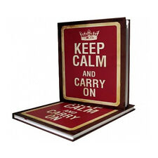 Keep Calm And Carry On Notebook - 72 Pages