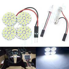 1P White 88SMD 38mm 5050 LED Circular Panel Interior Dome Map Lights Bulbs 2.7w