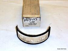 NOS MoPar 1969-73 Dodge Truck Fluted LICENSE LENS & GASKET 2913703