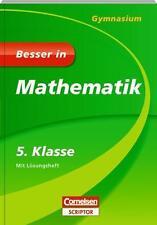 Besser in Mathematik - Gymnasium 5. Klasse - Cornelsen Scriptor von Fritz...