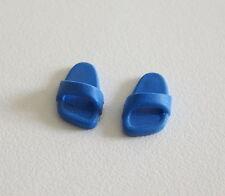 PLAYMOBIL (0518) PIEDS - Paire de Sandale Chausson Bleu Foncé Souple Adulte