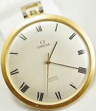 Vintage 18k Omega DeVille Meister Pocket watch from 1968