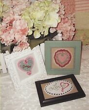 """Punchneedle Patterns by Acorn Quilt & Gift Company """"My Funny Little Valentine"""""""