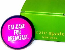New KATE SPADE & Lenox EAT CAKE FOR BREAKFAST Things We Love PAPERWEIGHT in Box