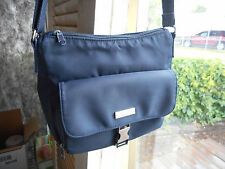 Rosetti New York Blue Travel Bag cross body magnetic zippered clean solid