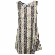 Swing Dress Women Indian Abstract Print Party Smock Floaty LoudElephant
