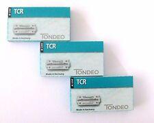 TONDEO 3  x 10 Klingen TCR für Rasiermesser aus der M-Line