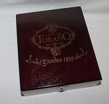 Carlos Torano Exodus 1959 Double Corona Mahogany Finish Wooden Cigar Box