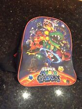 Super Mario Galaxy Back Pack Kids Nintendo Wii School Character
