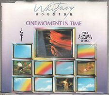 Whitney Houston CD-SINGLE ONE MOMENT IN TIME (c) 1988