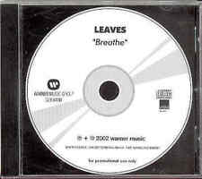 The Leaves Breathe 2002 Adv CD-Acetate Indie Shoegazer Iceland
