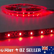 3X 12V 5M 3528 300SMD Black base Red LED Strip Waterproof Flexible Decorate
