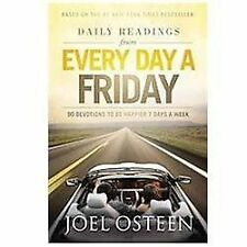 DAILY READINGS FROM EVERY DAY A FRIDAY by Joel Osteen - Hardcover - NEW