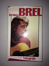 JACQUES BREL OEUVRE INTEGRALE FRANCE LOISIRS 1983