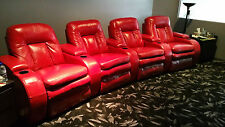 Media or Theatre Room Curved Lounge Suite by Stallion Design on the Gold Coast