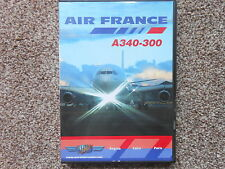 Air France Aibus A340-300. 120 Minute Flying DVD. Fast & Free Postage.