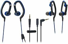 NEW Audio-Technica SonicSport In-Ear Waterproof  Headphones ATH-CKP200 BLUE