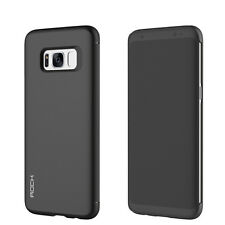 Original ROCK Shadow Smart cover Case Black for Samsung Galaxy S8 Plus G955F