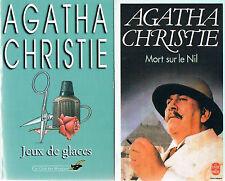 AGATHA CHRISTIE + Mort sur le Nil + Jeux de glaces + PARIS POSTER GUIDE