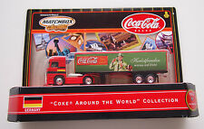 "MATCHBOX ""COKE AROUND THE WORLD"" COLLECTION SEMI TRUCK ""GERMANY"""