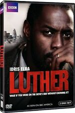 LUTHER Complete BBC TV Series DVD Collection Boxset Season 1 + Extras New