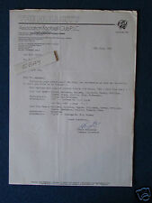 Hull City FC Correspondence Letter 1989 - re historical match details.