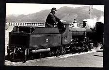 C1980s Photo Image of a miniature steam locomotive 'Farnborough Station'