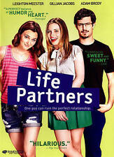 Life Partners (DVD, 2015, WS) Adam Brody, Gillian Jacobs, Leighton Meester  NEW