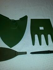 Max Axe Tool Attachments Set of 4 Military