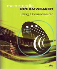 MACROMEDIA DREAMWEAVER using Dreamweaver BOOK computer