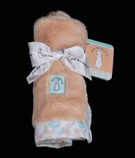 New Kids Preferred Pat the Bunny Peach Plush Baby Security Blanket HTF