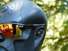 NEW! OAKLEY RADAR RANGE Polished Black / Fire Iridium OO9056-0635