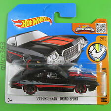 HOT WHEELS 2016 -  ´72 Ford Gran Torino Sport -  Muscle Mania - 122 - neu in OVP
