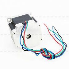 New DC24V Nema 23 Stepper Motor Single Shaft 12.6Kgcm 1.8Degree 4Leads 4 Channel