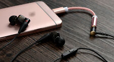 Lightning to 3.5mm Aux Headphone Adapter Cable For Apple iPhone 7 / 7 Plus Rose