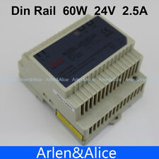 60W 24V Din Rail Single Output Switching power supply SMPS suply
