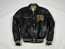 REDSKINS LEDERJACKE DRAGON TEDDY DA HANG HUE VINTAGE Jacket leather Size XXL