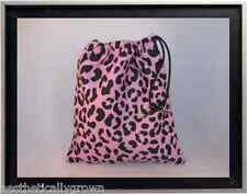 Gymnastics Leotard Grip Bags / Lavender Cheetah Gymnast Birthday Goody Bag