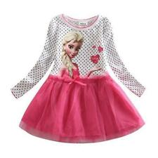 Kids Frozen ELSA School Birthday Celebration Party Outfit Girls Dresses AGE 7-8Y