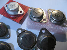 Assorted Television Power Transistors VINTAGE USED and NOS Lot of 14