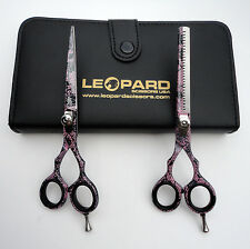 Professional Hair Cutting-Thinning Scissors Barber Shears Hairdressing Set 6""