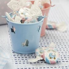 Baby shower caramelle ROCK favorisce Tiny Feet Rosa e Blu BATTESIMO DOLCI X 50