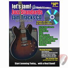 New! Watch and Learn Let's Jam! Jazz Standards Book and CD - Jam along Tracks