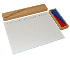 New Montessori Subtraction Strip Board