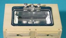 Dollhouse HouseWorks  Kitchen Metal Sink Kit #HW13431